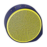 LOGITECH Mobile Wireless Speaker X100 [984-000370] - Purple/Yellow Grill - Speaker Bluetooth & Wireless
